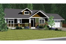 Dream House Plan - Ranch Exterior - Front Elevation Plan #126-192