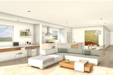 House Blueprint - Modern Interior - Family Room Plan #497-28