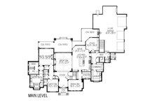 European Floor Plan - Main Floor Plan Plan #920-77