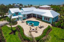 House Plan Design - Farmhouse Exterior - Rear Elevation Plan #938-82