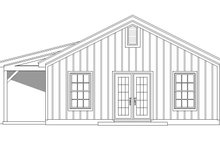 House Plan Design - Country Exterior - Other Elevation Plan #932-200