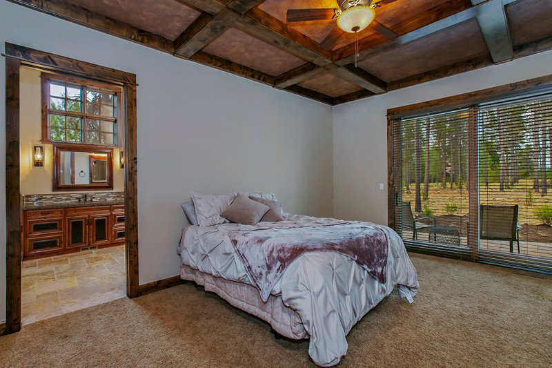 Craftsman style house design, Master bedroom photo