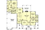 Farmhouse Style House Plan - 3 Beds 2.5 Baths 2454 Sq/Ft Plan #430-229 Floor Plan - Main Floor Plan