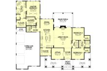 Farmhouse Floor Plan - Main Floor Plan Plan #430-229