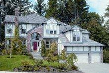 House Design - European Exterior - Front Elevation Plan #48-328