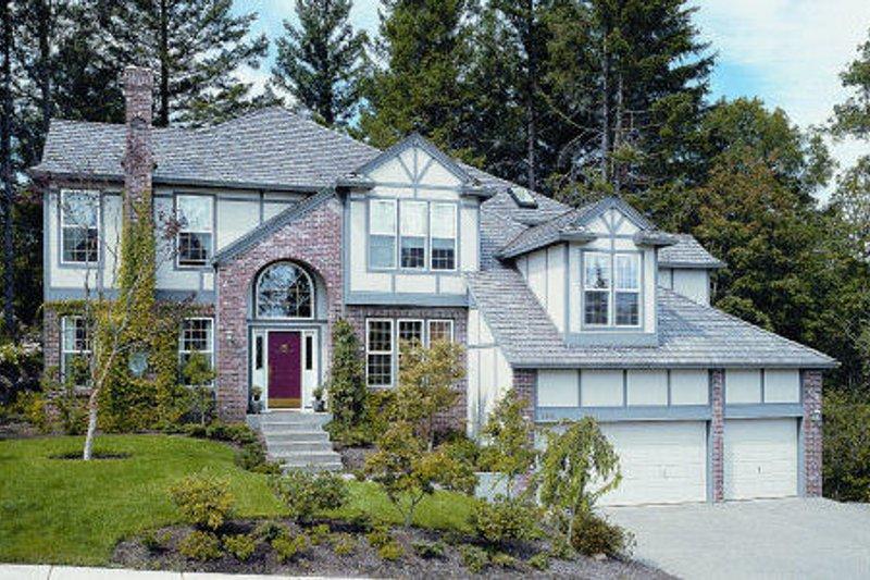 Dream House Plan - European Exterior - Front Elevation Plan #48-328