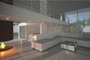 Modern Style House Plan - 3 Beds 2 Baths 3160 Sq/Ft Plan #473-1 Photo