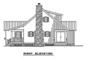 Farmhouse Style House Plan - 2 Beds 2 Baths 1178 Sq/Ft Plan #17-2020 Exterior - Other Elevation