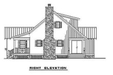 Home Plan - Farmhouse Exterior - Other Elevation Plan #17-2020