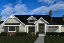 Dream House Plan - Craftsman Exterior - Front Elevation Plan #920-124