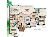 Mediterranean Style House Plan - 5 Beds 4.5 Baths 6162 Sq/Ft Plan #27-397 Floor Plan - Upper Floor