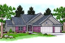 Traditional Exterior - Front Elevation Plan #70-260