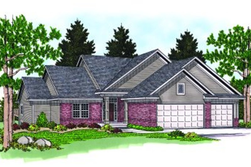 Dream House Plan - Traditional Exterior - Front Elevation Plan #70-260