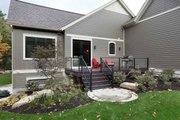 Craftsman Style House Plan - 3 Beds 3.5 Baths 4135 Sq/Ft Plan #928-318 Exterior - Outdoor Living