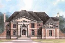 House Design - European Exterior - Front Elevation Plan #119-104