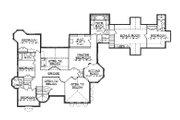 European Style House Plan - 8 Beds 7.5 Baths 5561 Sq/Ft Plan #5-447 Floor Plan - Upper Floor Plan