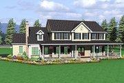 Farmhouse Style House Plan - 4 Beds 2.5 Baths 2787 Sq/Ft Plan #75-102