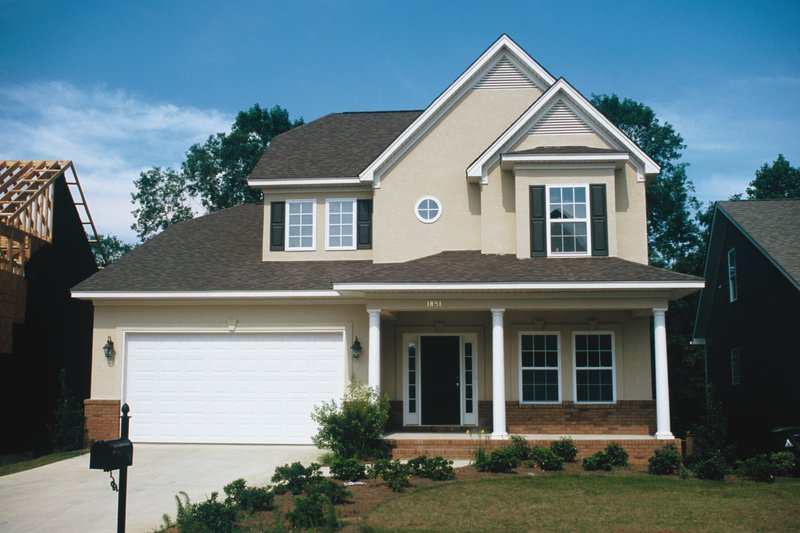Home Plan - Farmhouse Exterior - Front Elevation Plan #20-1221