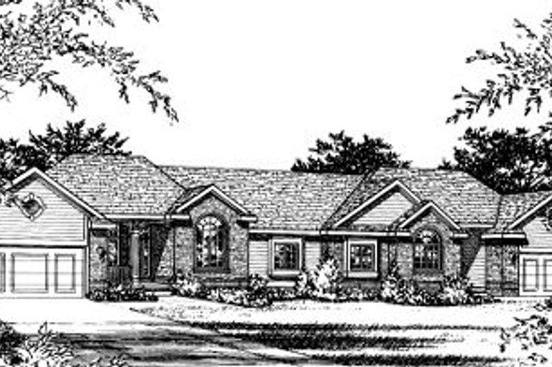 Traditional Exterior - Front Elevation Plan #20-569