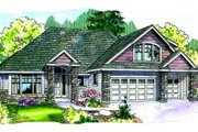 Traditional Style House Plan - 3 Beds 2.5 Baths 2506 Sq/Ft Plan #124-681 Exterior - Front Elevation