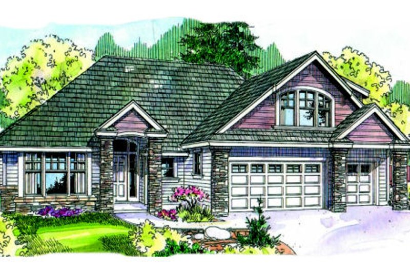 Traditional Style House Plan - 3 Beds 2.5 Baths 2506 Sq/Ft Plan #124-681