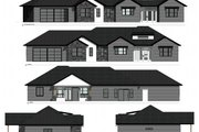Ranch Style House Plan - 3 Beds 2 Baths 2128 Sq/Ft Plan #1077-4 Exterior - Other Elevation
