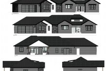 Ranch Exterior - Other Elevation Plan #1077-4