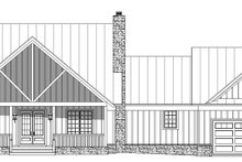 Dream House Plan - Country Exterior - Front Elevation Plan #932-146