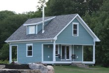 Dream House Plan - Country Exterior - Front Elevation Plan #124-1086
