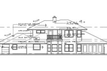 Prairie Exterior - Rear Elevation Plan #120-109