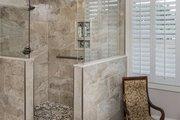 European Style House Plan - 3 Beds 2.5 Baths 2170 Sq/Ft Plan #929-859 Interior - Master Bathroom