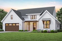 House Plan Design - Contemporary Exterior - Front Elevation Plan #48-944