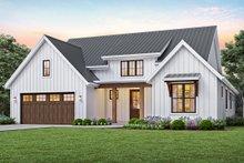 House Plan Design - Contemporary Exterior - Front Elevation Plan #48-944