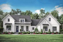 Home Plan - Farmhouse Exterior - Front Elevation Plan #1067-3
