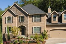 Dream House Plan - Traditional Exterior - Other Elevation Plan #48-448