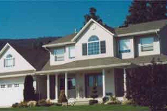 Farmhouse Exterior - Front Elevation Plan #126-105