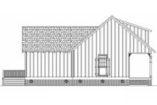 House Blueprint - Cottage Exterior - Other Elevation Plan #45-585