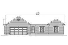 House Plan Design - Ranch Exterior - Front Elevation Plan #22-599