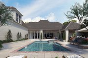 Southern Style House Plan - 4 Beds 3.5 Baths 3585 Sq/Ft Plan #1074-52