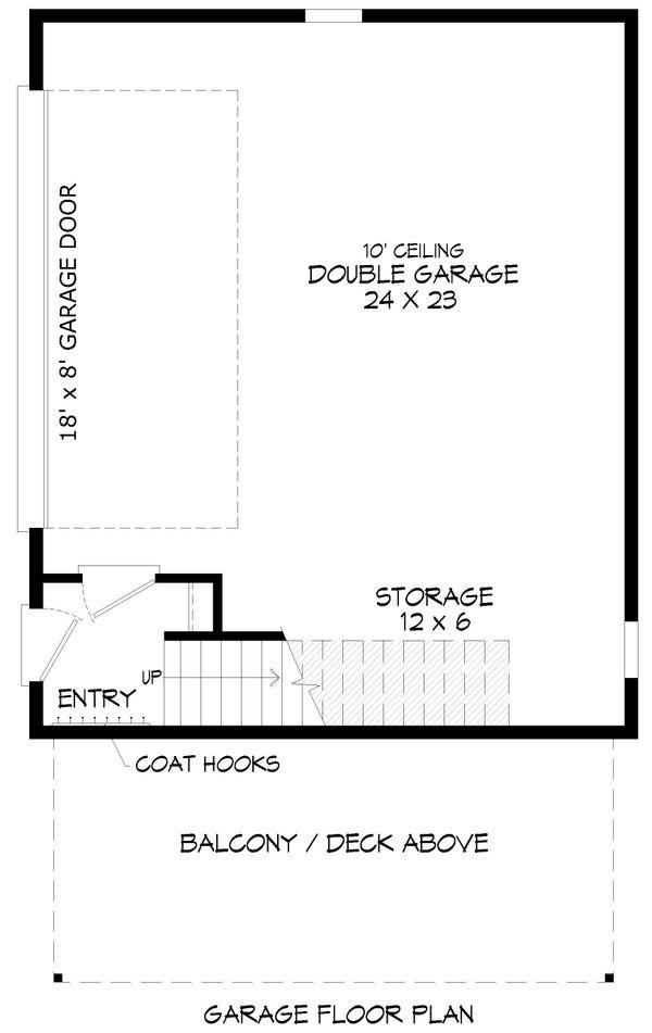 Dream House Plan - Contemporary Floor Plan - Other Floor Plan #932-286