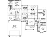 Country Style House Plan - 4 Beds 2.5 Baths 2258 Sq/Ft Plan #21-386 Floor Plan - Main Floor Plan