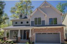 House Design - Craftsman Exterior - Front Elevation Plan #119-370