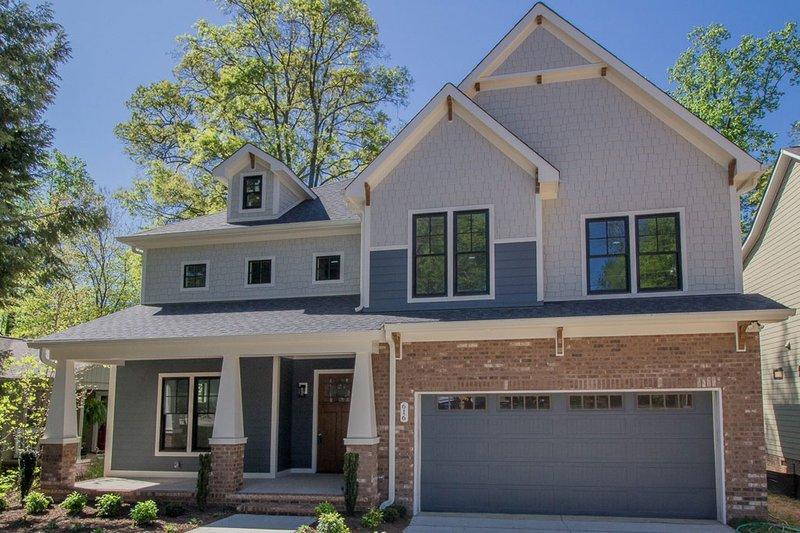 Home Plan - Craftsman Exterior - Front Elevation Plan #119-370