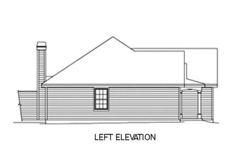 Traditional Exterior - Other Elevation Plan #57-142 - Houseplans.com
