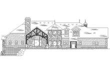 Home Plan - European Exterior - Rear Elevation Plan #5-415