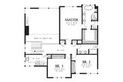 Contemporary Style House Plan - 3 Beds 3 Baths 2939 Sq/Ft Plan #48-707 Floor Plan - Upper Floor