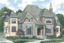 Dream House Plan - European Photo Plan #453-25