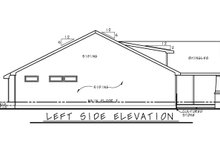 House Plan Design - Cottage Exterior - Other Elevation Plan #20-2399