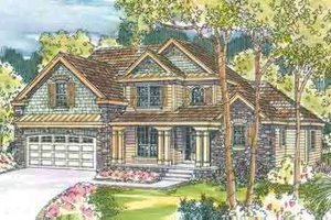 House Plan Design - Country Exterior - Front Elevation Plan #124-539