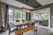 Home Plan - Country Interior - Dining Room Plan #23-2529
